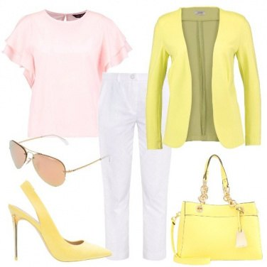 Outfit Felice e solare