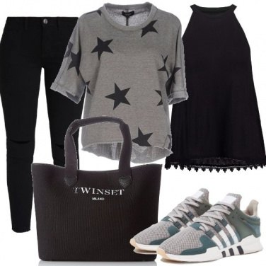 Outfit Casual a stelle