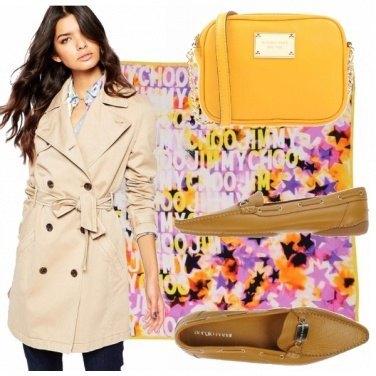 Outfit Giallo primavera