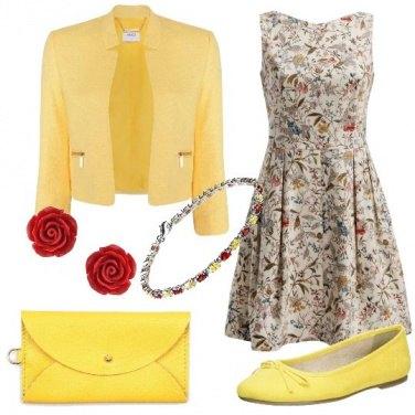 Outfit Una festa a fiori