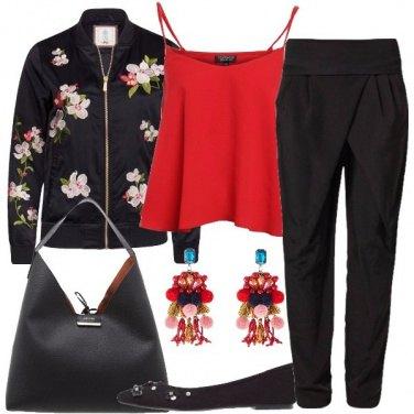 Outfit Oriente metropolitano