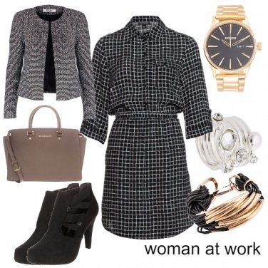 Outfit woman at work