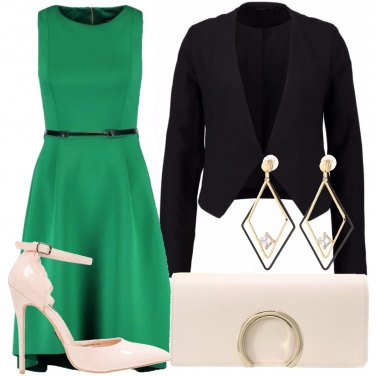 Outfit Abito verde