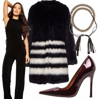 Outfit Ci piace la pelliccia