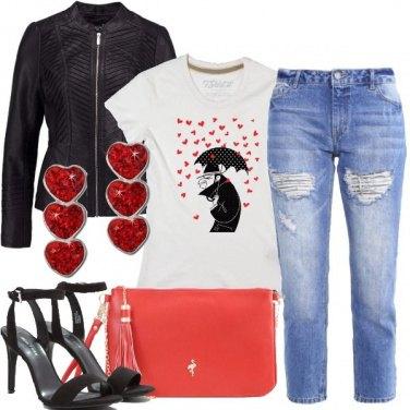 Outfit Cuori informali