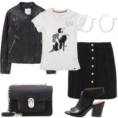 Outfit La t-shirt rock