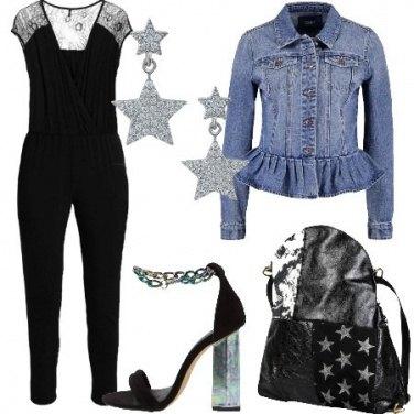 Outfit Jumpsuit e jeans