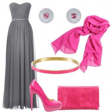 Outfit Meraviglioso abito grigio