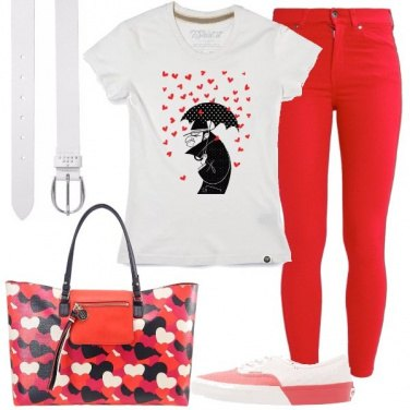 Outfit Piove amore