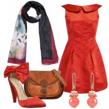 Outfit Mi vesto di rosso