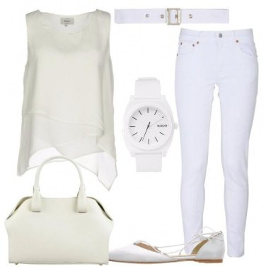 Outfit Amante del bianco