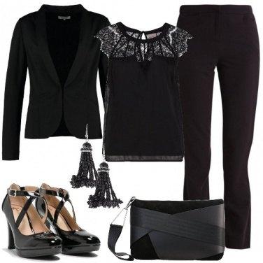 Outfit Gran sera in giacca e pantaloni