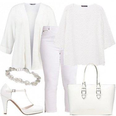 Outfit Non rinuncio al bianco