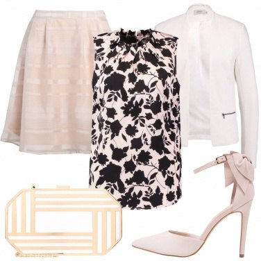 Outfit Romantica in rosa