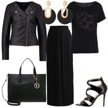 Outfit Lunghezze in nero