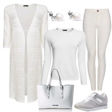 Outfit Pensare in bianco