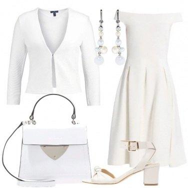 Outfit Ad una festa in bianco