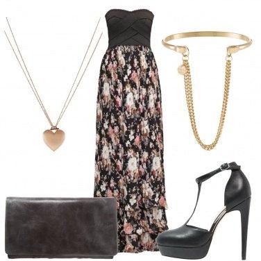 Outfit Vestito floreale