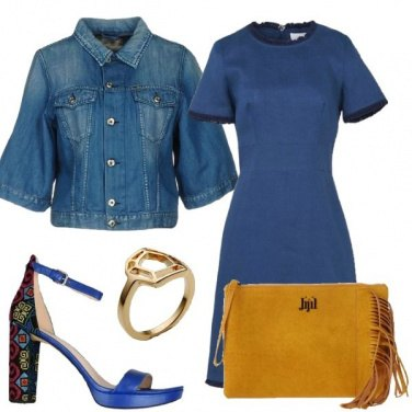 Outfit Microfantasie sul tacco