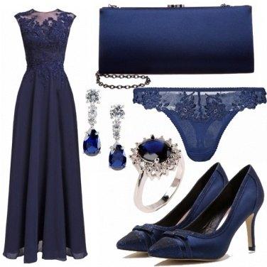 Outfit Sangue blu, vestito blu !