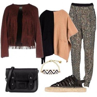 Outfit La giacca con le frange