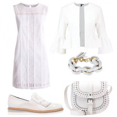Outfit Il total white che sorprende