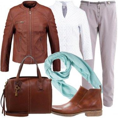 Outfit Cognac e brandy