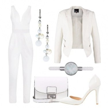 Outfit Sexy in bianco