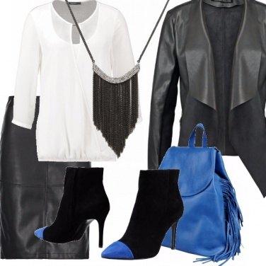 Outfit Donne rock sui tacchi