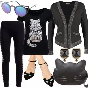 Outfit Gattina rock