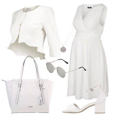 Outfit Di classe con il pancione