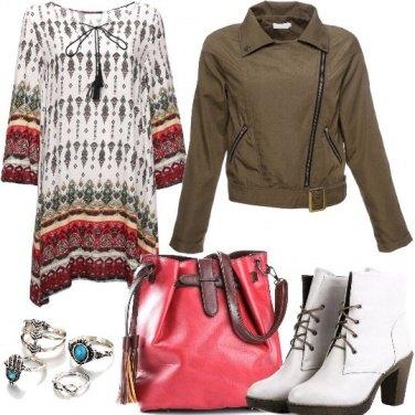 Outfit Comoda in stile boho metropolitano