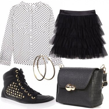 Outfit La mini in tulle