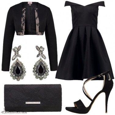 Outfit Elegante di sera