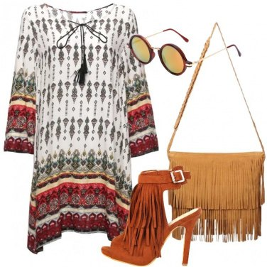 Outfit Adoro le frange