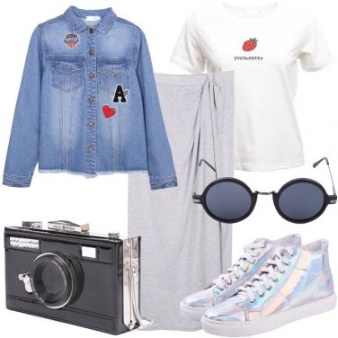 Outfit Una borsa originale