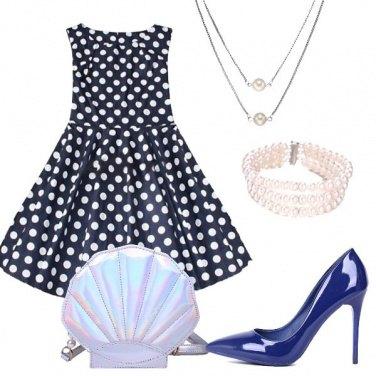 Outfit Conchiglia e perle