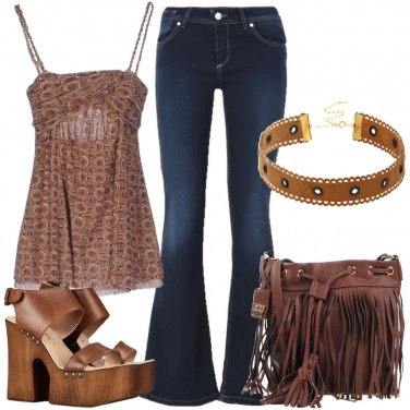 Outfit Amore per le frange