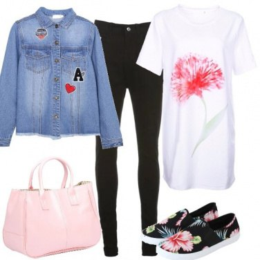 Outfit Mi sento un fiore