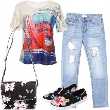 Outfit Tanti fiori