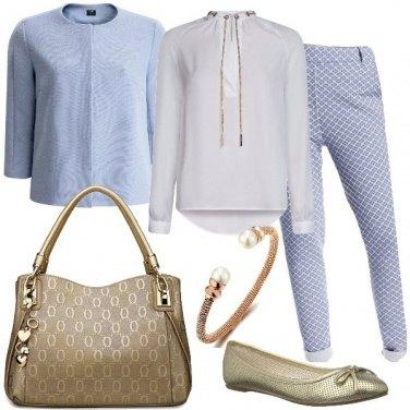 Outfit Fiordaliso dorato