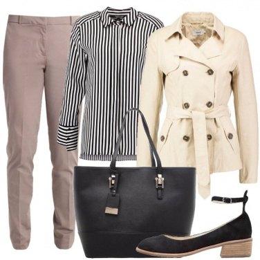Outfit Raffinatezza e comodità