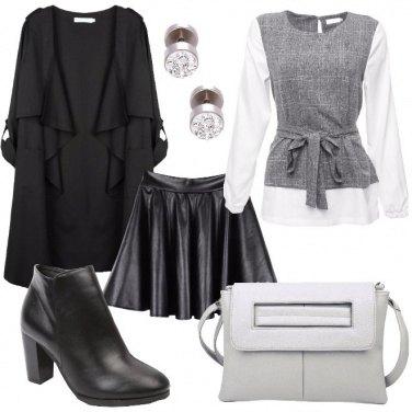 Outfit La blusa con il gilet