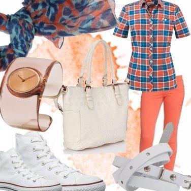 Outfit Il colore dell\'estate 2015 : Tangerine