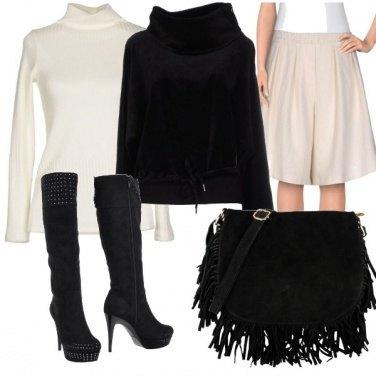 Outfit Il bianco ed il nero