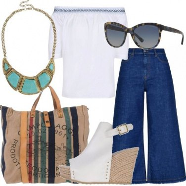 Outfit Ispirazione boho folk