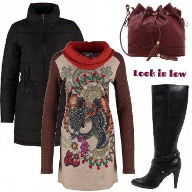 Outfit Con un filo di trucco