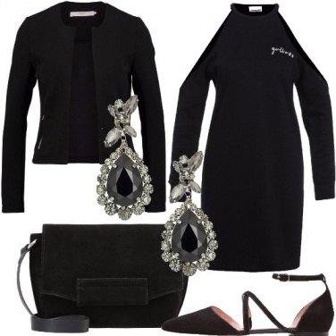 Outfit Serata nera