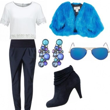 Outfit 50 shadows of blue