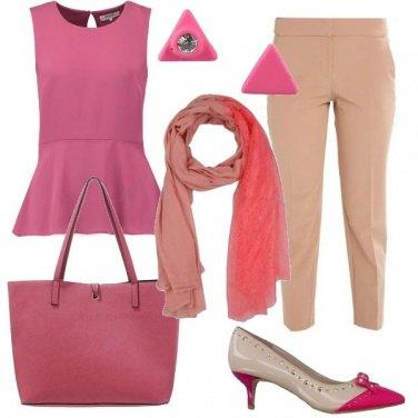 Outfit Rosa per la città